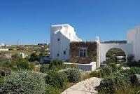 lush garden of Villa Nefeli luxury holiday home and vacation rental