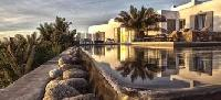 lovely garden of Villa Nefeli luxury holiday home and vacation rental