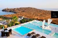 impeccable seafront Villa Nefeli luxury holiday home and vacation rental