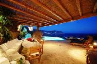 amazing sea view from Villa Nefeli luxury holiday home and vacation rental