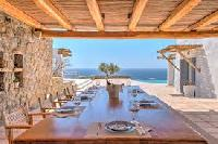 awesome sea view from Villa Nefeli luxury holiday home and vacation rental