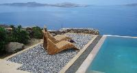 splendid sea view from Mykonos Villa Nest luxury holiday home and vacation rental