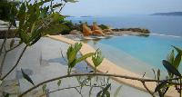 beautiful seafront Mykonos Villa Nest luxury holiday home and vacation rental