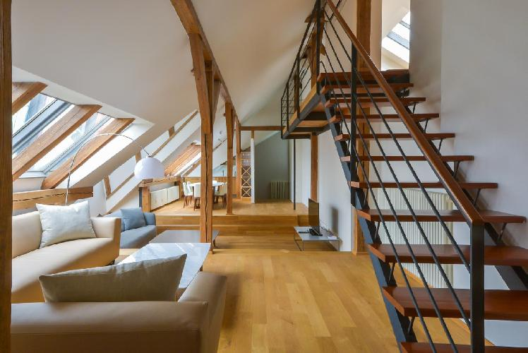 awesome Prague - Penthouse Malbec luxury apartment, holiday home, vacation rental