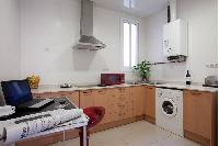 modern kitchen appliances in Barcelona - Golden Apartment luxury holiday home and vacation rental