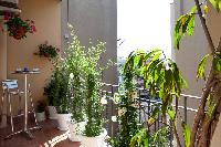 awesome balcony of Barcelona - Golden Apartment luxury holiday home and vacation rental
