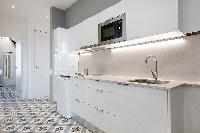 cool modern kitchen of Barcelona - Sagrada Familia Suite 2 luxury apartment