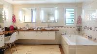cool bathtub in Saint Barth Villa Au Coeur Du Rocher luxury holiday home, vacation rental
