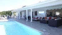cool poolside of Saint Barth Villa Au Coeur Du Rocher luxury holiday home, vacation rental