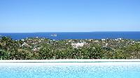 amazing sea view from Saint Barth Villa Au Coeur Du Rocher luxury holiday home, vacation rental
