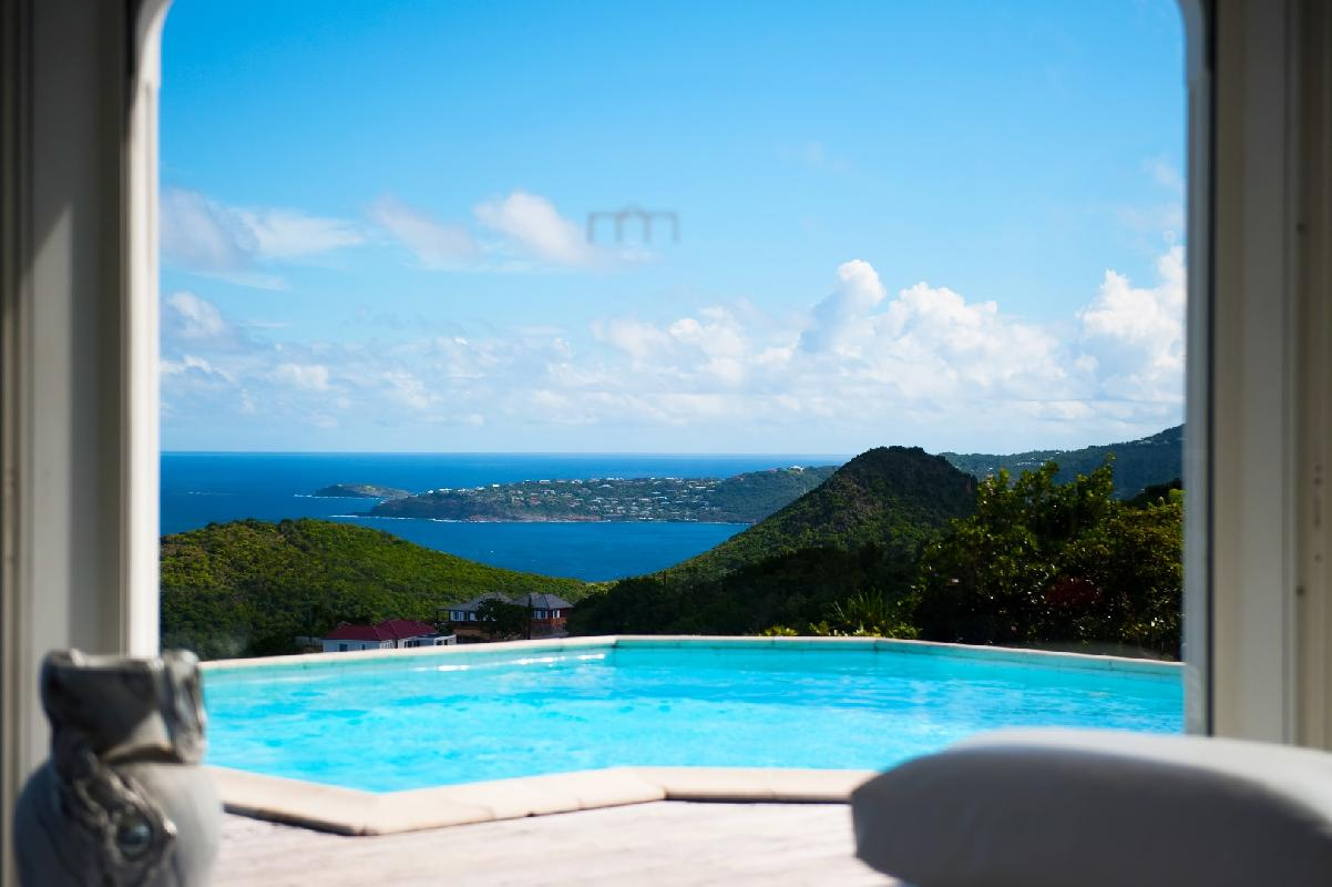 beautiful Saint Barth Villa Byzance luxury holiday home, vacation rental