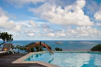 impressive pool of Saint Barth Villa Byzance luxury holiday home, vacation rental
