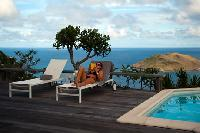 nice pool of Saint Barth Villa Byzance luxury holiday home, vacation rental