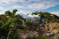 lush grounds of Saint Barth Villa Byzance luxury holiday home, vacation rental