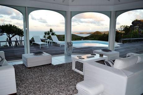 perfect Saint Barth Villa Byzance luxury holiday home, vacation rental
