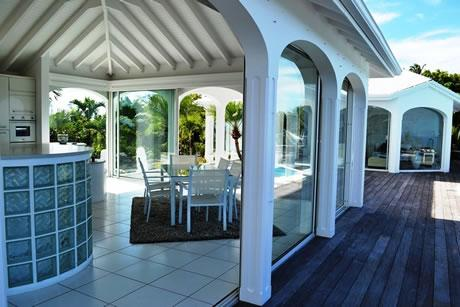 spectacular Saint Barth Villa Byzance luxury holiday home, vacation rental