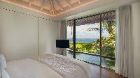 clean bedroom linens in Saint Barth Villa Lina luxury holiday home, vacation rental