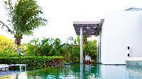 cool swimming pool of Saint Barth Villa Lina luxury holiday home, vacation rental