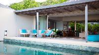 cool lanai of Saint Barth Villa Lina luxury holiday home, vacation rental