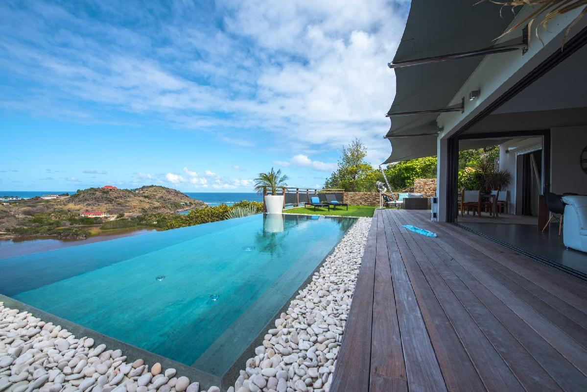 Saint Barth Villa - Open Space
