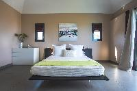 fresh bed sheets in Saint Barth Villa Open Space luxury holiday home, vacation rental