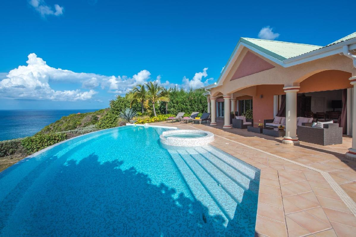 beautiful Saint Barth Villa Sea Bird luxury holiday home, vacation rental
