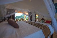 clean bed sheets in Saint Barth Villa Sea Bird luxury holiday home, vacation rental
