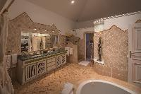 amazing bathroom in Saint Barth Villa Sea Bird luxury holiday home, vacation rental