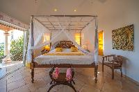 beautiful bedroom in Saint Barth Villa Sea Bird luxury holiday home, vacation rental
