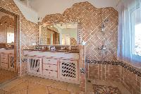 awesome bathroom in Saint Barth Villa Sea Bird luxury holiday home, vacation rental