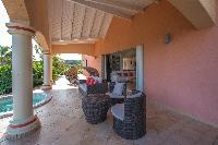 cool patio of Saint Barth Villa Sea Bird luxury holiday home, vacation rental