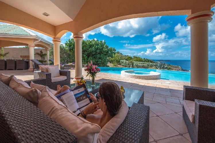 awesome Saint Barth Villa Sea Bird luxury holiday home, vacation rental