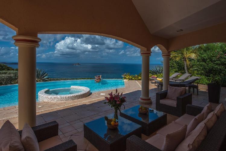 amazing Saint Barth Villa Sea Bird luxury holiday home, vacation rental