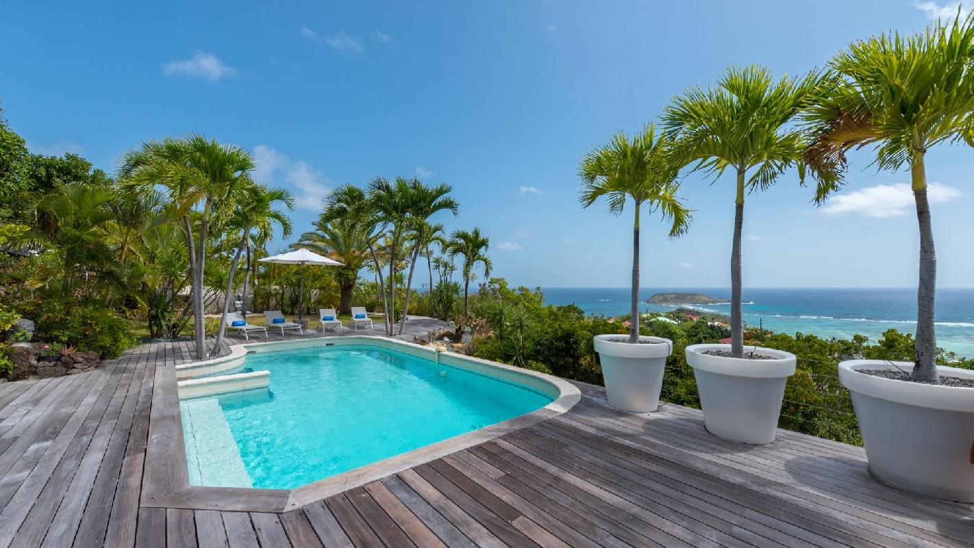 beautiful Saint Barth Villa Chloé luxury holiday home, vacation rental