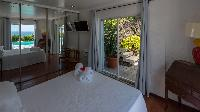 clean bed sheets in Saint Barth Villa Chloé luxury holiday home, vacation rental