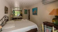 clean bedroom linens in Saint Barth Villa Chloé luxury holiday home, vacation rental