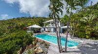 cool swimming pool of Saint Barth Villa Chloé luxury holiday home, vacation rental