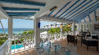 cool lanai of Saint Barth Villa Chloé luxury holiday home, vacation rental