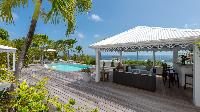 beautiful sea view from Saint Barth Villa Chloé luxury holiday home, vacation rental