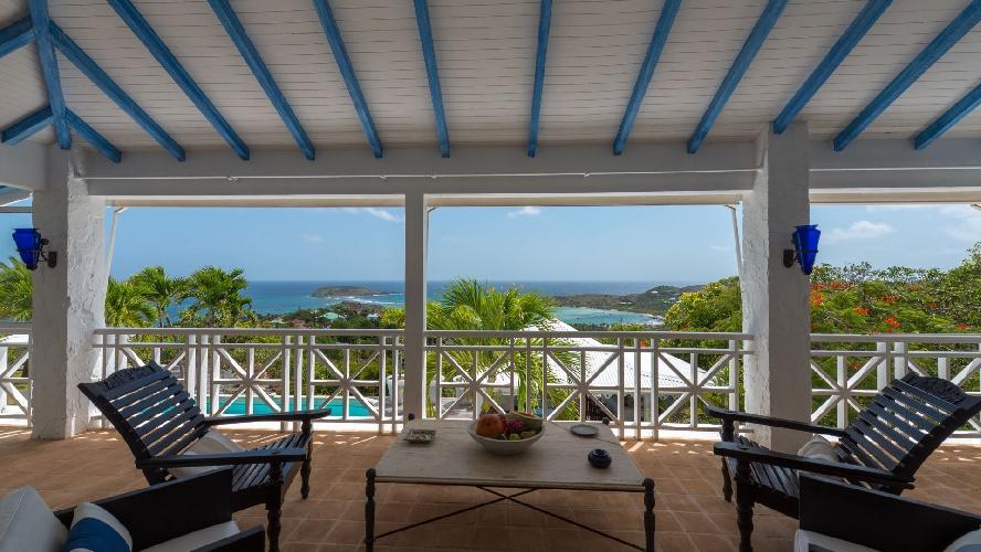 cool cabana of Saint Barth Villa Chloé luxury holiday home, vacation rental