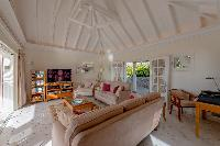 fully furnished Saint Barth Villa Les Acajous luxury holiday home, vacation rental