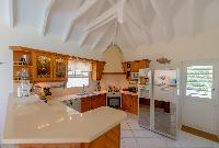 cool kitchen of Saint Barth Villa Les Acajous luxury holiday home, vacation rental