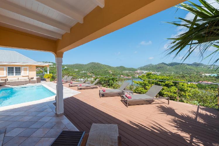 beautiful Saint Barth Villa Les Acajous luxury holiday home, vacation rental
