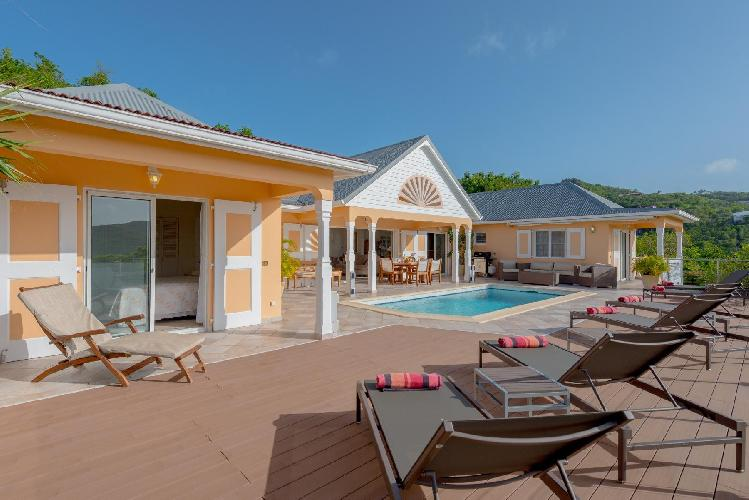 awesome Saint Barth Villa Les Acajous luxury holiday home, vacation rental