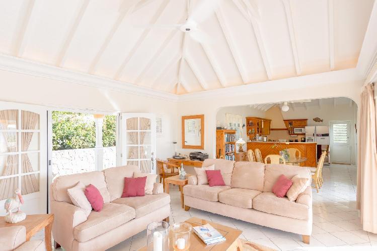 fabulous Saint Barth Villa Les Acajous luxury holiday home, vacation rental