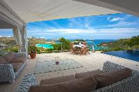 incredible sea view from Saint Barth Villa Mystique luxury holiday home, vacation rental