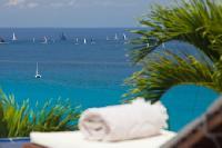 splendid sea front Saint Barth Villa Mystique luxury holiday home, vacation rental