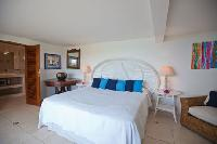 clean bedroom linens in Saint Barth Villa Mystique luxury holiday home, vacation rental