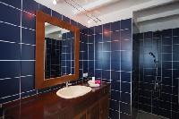 clean bathroom in Saint Barth Villa Mystique luxury holiday home, vacation rental