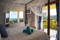 clean bedroom linens in Saint Barth Villa Natanya luxury holiday home, vacation rental